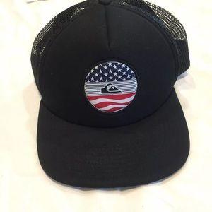 Quick Silver SnapBack foam front hat